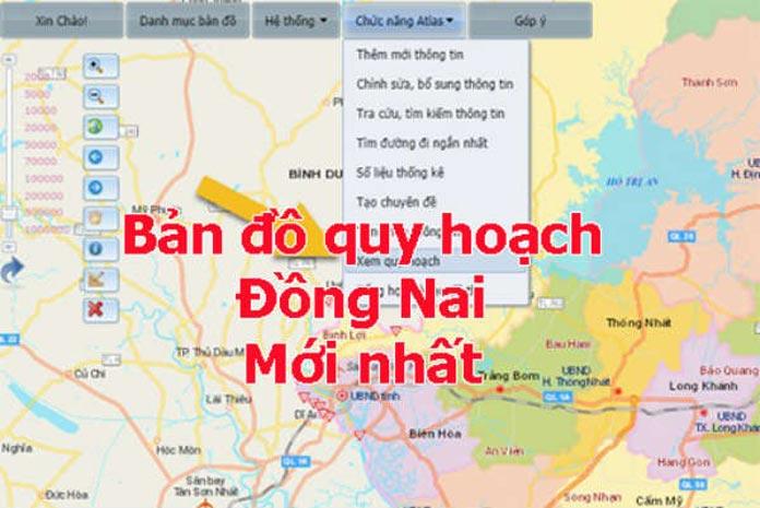 Thông tin bản đồ quy hoạch chi tiết thành phố Biên Hòa 2021