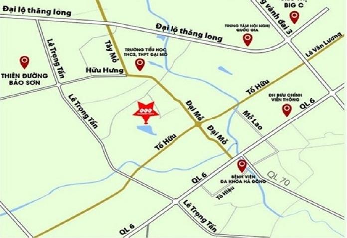 duong 70 tay mo - Thông tin dự án quy hoạch đường 70 Xuân Phương mới nhất - thong-tin-quy-hoach