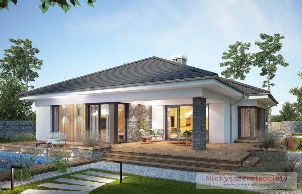 Tổng Hợp 20+ mẫu biệt thự nhà vườn 1 tầng phong cách hiện nay (2021)